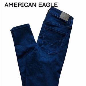 AMERICAN EAGLE super hi rise jeggings